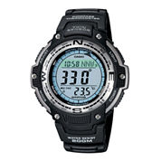 Casio® Twin Sensor Mens Compass/Thermometer Watch SGW100-1V