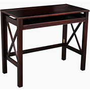 Montego Folding Desk with Pullout Shelf