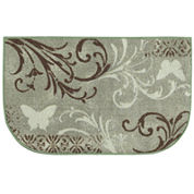 Butterfly Scroll Wedge Rug