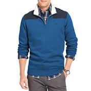 IZOD® Quarter-Zip Sherpa Fleece Pullover