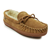 Lamo Moccasin Mens Suede Slippers