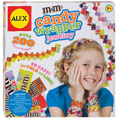ALEX TOYS® M & M's® Candy Wrapper Jewelry Kit