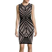 Bisou Bisou® Sleeveless Bodycon Sweater Dress