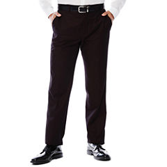 Men's JF J. Ferrar® Enlightened Gab Merlot Flat-Front Straight-Leg Slim Fit Pants