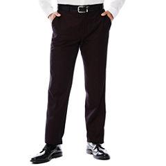 Men's JF J. Ferrar® Enlightened Gab Merlot Flat-Front Straight-Leg Slim Fit Pants