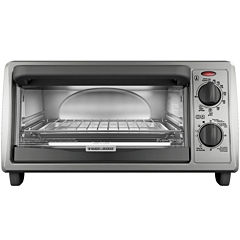 Black+Decker TO1322SBD  4-Slice EvenToast ToasterOven