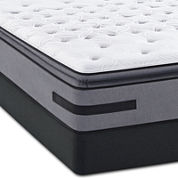 Sealy® Posturepedic® Solia Bay Cushion Firm Euro Pillow-Top - Mattress + Box Spring