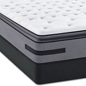 Sealy® Posturepedic® Solia Bay Firm Euro Pillow-Top - Mattress + Box Spring