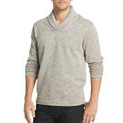 Van Heusen Long Sleeve Fleece Pullover Sweater