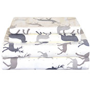 Pointehaven Heavy Weight Flannel TwinXL Sheet Set