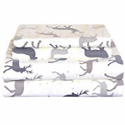 Pointehaven Heavy Weight Flannel King Sheet Set