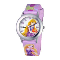 Disney Rapunzel Kids Time Teacher Purple Strap Watch