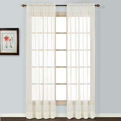 United Curtain Co. Batiste Rod-Pocket Curtain Panel