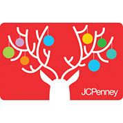 $25 Reindeer Ornaments Gift Card