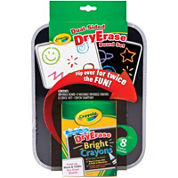 Crayola® Dual-Sided Dry-Erase Board Set