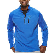 Asics® Microfleece Quarter-Zip Shirt