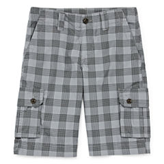 Arizona Poplin Cargo Boys 8-20, Slim and Huksy