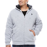U.S. Polo Assn. Long Sleeve Fleece Hoodie Big and Tall