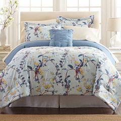 Pacific Coast Textiles Lucia Reversible 8-pc Reversible Comforter Set