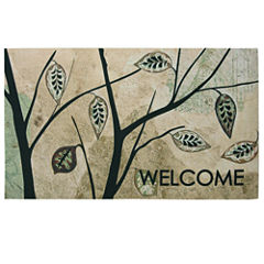 Bacova Birch Leaves Rectangular Rug - 18