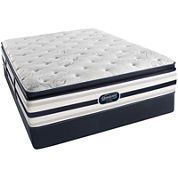 Simmons® Beautyrest® Recharge® McCampbell Pillow-Top Plush - Mattress + Box Spring