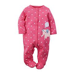 Carter's® Elephant Sleep & Play - Baby Girls newborn-9m
