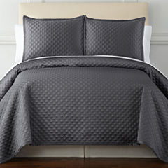 Royal Velvet® Diamond 3-pc. Coverlet Set