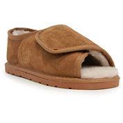 Lamo Womens Open Toe Wrap Moccasins