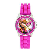Girls Pink Strap Watch-Fzn3552jc