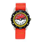 Boys Red Strap Watch-Pok3129jc
