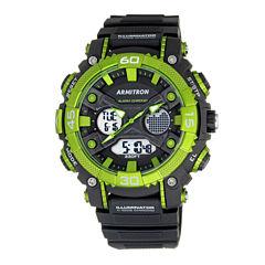 Armitron® Mens Green Analog and Digital Watch