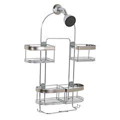Zenna Home Expandale Over the Shower Caddy