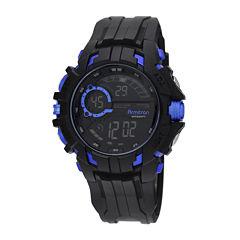 Armitron® Mens Blue Strap Watch 40/8335BLUJ