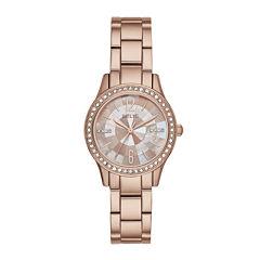 Relic® Womens Rose Mos Zr12174 Bracelet Watch