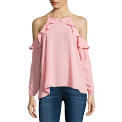 Decree Flutter Sleeve Top