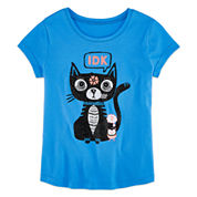 Arizona Girls Graphic T-Shirt-Big Kid