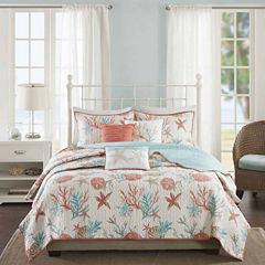 Madison Park Pacific Grove 6-pc. Coverlet Set