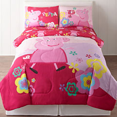 Peppa Pig Bedding Set with Sheets