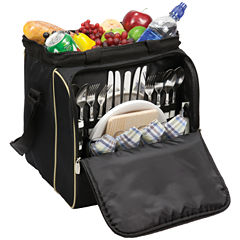 Picnic Time® Verdugo Picnic Tote For Four