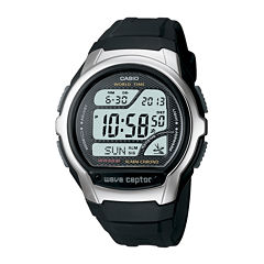Casio® Wave Ceptor Mens Atomic Timekeeping Digital Sport Watch WV58A-1AV