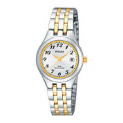 Pulsar® Womens Two-Tone Stainless Steel Bracelet Watch PH7237X