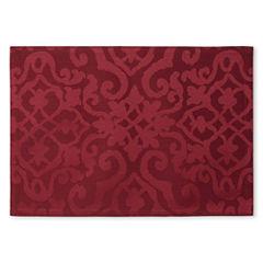 Royal Velvet® Helmsley Damask Set of 4 Placemats