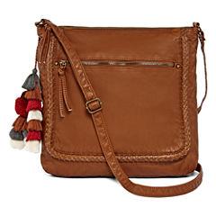 Arizona Top Zip Braid Crossbody Bag