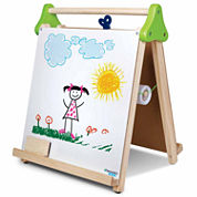 Discovery Kids Wooden 3-in-1 Tabletop Easel