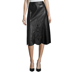 Worthington Faux Leather Skirt