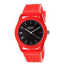 Crayo Unisex Red Strap Watch-Cracr3702