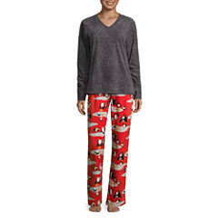 Pj Couture Fleece Pant Pajama Set with Blanket