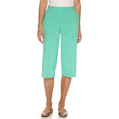 Alfred Dunner Sheeting Capris