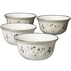 Pfaltzgraff® Winterberry Set of 4 Deep Serving Bowls