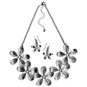 Mixit Womens 2-pc. Clear Jewelry Set
